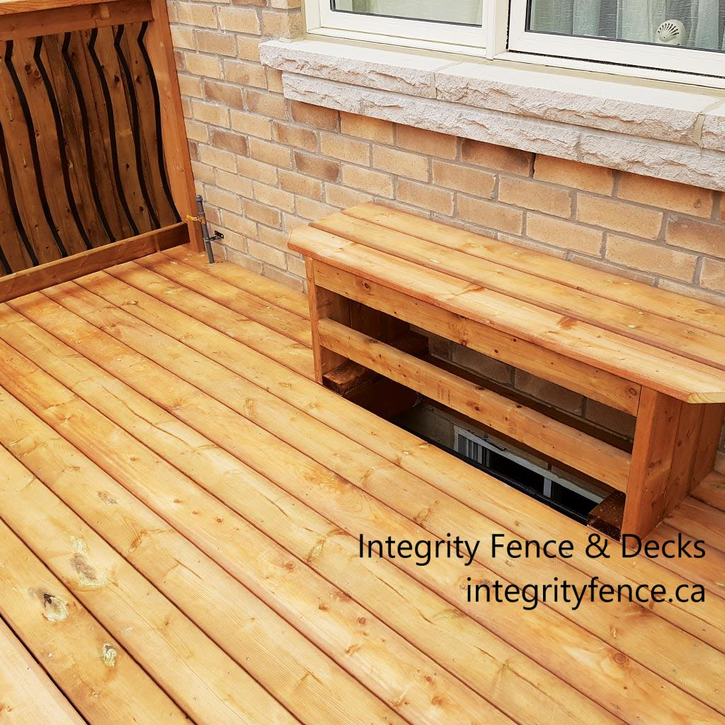 Pressure Treated Bench